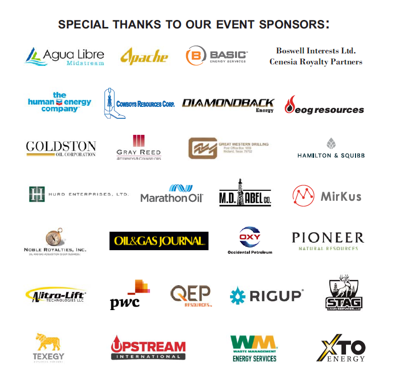 Thank You Sponsors Web